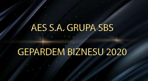 AES S.A. Grupa SBS po raz kolejny Gepardem Biznesu